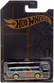 Hot Wheels 51 周年缎面和铬合金系列 1971 Datsun 510 四轮车 1/64 压铸汽车