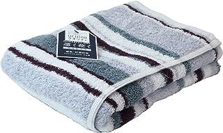 (内野)UCHINO TOWEL GALLERY(内野毛巾画廊) 强力干燥「城市」 浴巾 约65×130cm 灰色 8840B742 Gy