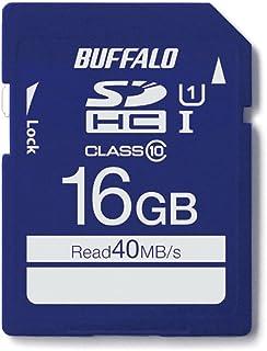 Buffalo UHS-I Class1SD 卡 U1s 系列 16GB