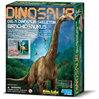 4M 考古探索系列 腕龙考古探索 侏罗纪恐龙 科学探索益智教育玩具 进口