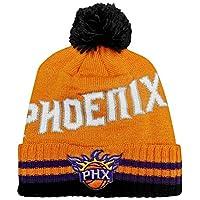 adidas Phoenix Suns 醒目的单字标记条纹袖口球衣针织无檐小便帽/帽子