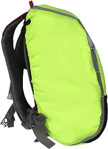 Sleek Pick 高能见度防水反光背包雨罩带 LED 灯,*防滑交叉扣带,加固层,适用于徒步野营旅行骑行旅行