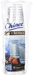 Chinet Cut 水晶杯 - 14 盎司 - 18 克拉
