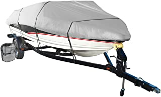 Wake by Eevelle Monsoon Series Model E Boat Cover - fits 20'-22' Long Boats