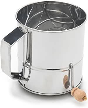 Fox Run 3-Cup Stainless Steel Flour Sifter 银色 3 Cup_Stainless Steel
