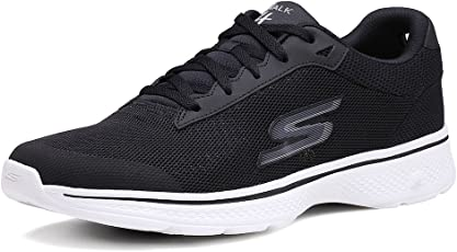 Skechers 斯凯奇 ON-THE-GO 男 GO WALK 4 轻质绑带健步鞋 54160