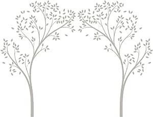 LittleLion Studio 067001010000000000000000 树顶门墙贴 暖灰色 067006751000000000000000