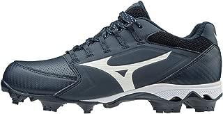 Mizuno 女士 9-Spike Advanced Finch Elite 4 TPU 模压垒球鞋