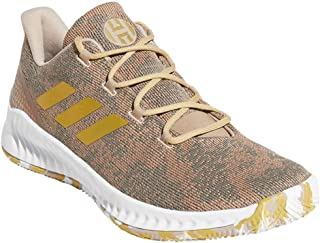 adidas 阿迪达斯 男式 Harden B-E X 篮球追踪卡其色/金色金属/云白色