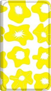 智能手机壳 手册式 对应全部机型 薄型印刷手册 cw-156top 套 手册 花朵图案 超薄 轻量 UV印刷 壳wn-0253704-wy Xperia AX SO-01E 图案E