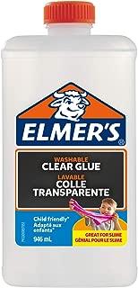 Elmer's Glitter 膠水 PVA Glue 946 ml 透明