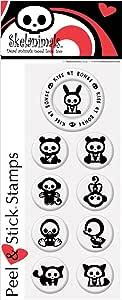 PSA Essentials Peel & Stick Stamps, Skelanimals Jack and Friends