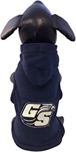 NCAA 佐治亚南鹰队棉质莱卡连帽狗衬衫,小码