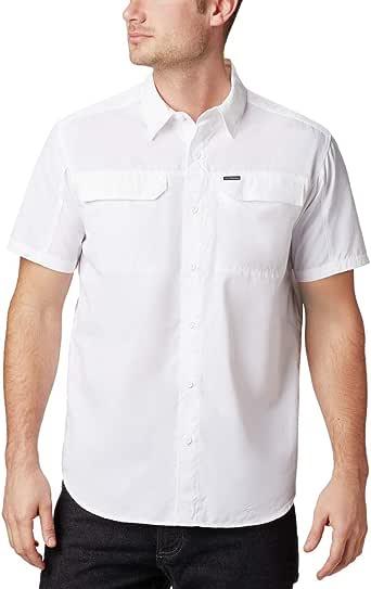 Columbia Silver Ridge 2.0 短袖衬衫 大 白色 1838881-100-Large