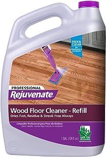 Rejuvenate 高性能专业硬木地板清洁剂无痕*消除*顽固的污垢和污垢 透明 1 加仑 RJ128FCPRO
