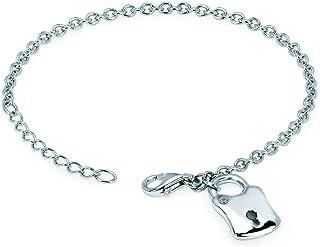 Little Diva 钻石纯银钻石小盒式项链手链