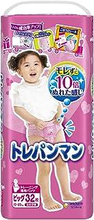 unicharm trepanman 大号 (12~22kg) 女童用 32片 [训练]
