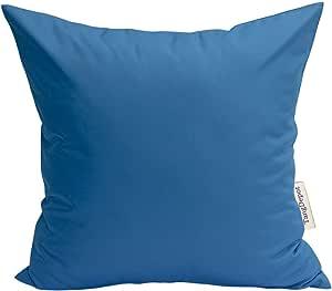 tangdepot 耐用人造丝绸纯色枕套