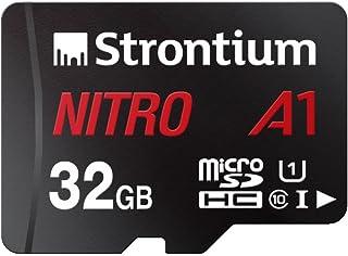 strontium Nitro 256GB Micro SDXC 内存卡100MB/S A1uhs-i U CLASS 10W/适配器高速适用于智能手机平板电脑 drones 可动 CAMS (srn256gtfu3a1a) 128GB