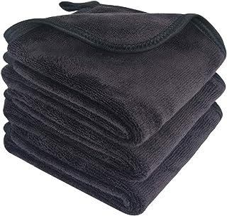 Sunland 超细纤维卸妆湿巾可重复使用面部清洁毛巾超柔软毛巾 20.32 厘米 x 40.64 厘米 3 Pack