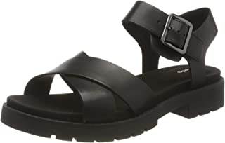 Clarks 女士 Orinoco 系带露跟凉鞋