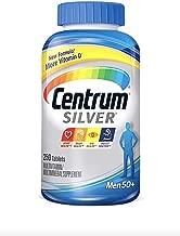 2件装 Centrum Silver 男士多种维生素和矿物质 250 片 x 2