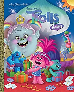 """Trolls Holiday Big Golden Book (DreamWorks Trolls) (English Edition)"",作者:[Lewman, David]"