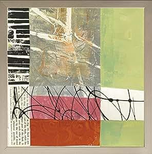 Frame Company Connolly Jane Davies Yesterday 画框,银色,25.4 x 25.4 厘米 金色 8 x 8 Inches 5056033087513