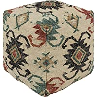 "Artistic Weavers Carlsbad 小袋,18"" x 18"" x 18"",青色/砖色/黑色"