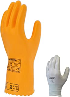Sankei 双层手套 ( 超薄 / 聚氨酯・*材质 ) (AC300V,DC750V以下) IN750-S