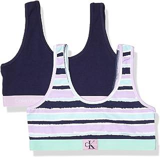Calvin Klein 女童现代棉质文胸,多件装