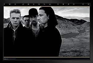 金字塔美洲 U2 Joshua 树 裱框海报 20x14 inches 97213