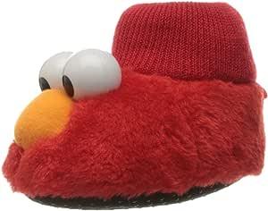 Sesame Street 儿童中性 Sesame Street Elmo Puppet Slipper SESAME STREET ELMO PUPPET SLIPPER 红色 5/6 Child US Toddler