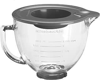 KitchenAid 5K5GB 玻璃碗,4.8 升(KitchenAid 臺式攪拌機可選配件)