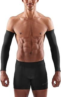 Skins 男士必备热叶袖 - 黑色,小号