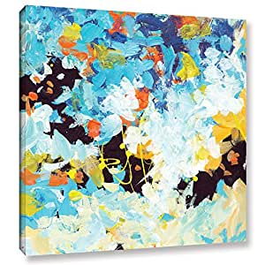 "ArtWall Jan Weiss's Floral Garden 2 Gallery Wrapped Canvas, 14"" x 14"""