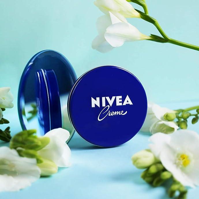 德国进口 NIVEA 妮维雅 经典蓝罐长效润肤霜 400ml*4罐 镇店之宝¥138