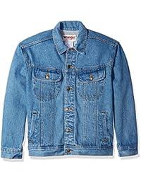 WRANGLER 男式经典 DENIM jacket-motorcycle 版