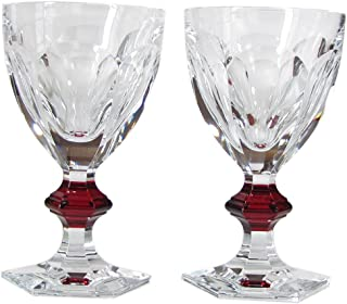 Baccarat 玻璃杯 情侣 HARCOURT 1841 路易·菲利浦 红纽扣 2810590 2810590