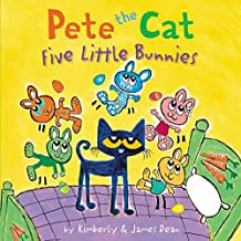Pete the Cat: Five Little Bunnies (English Edition)