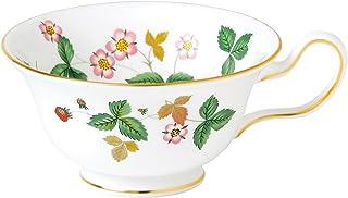 Wedgwood Wild 草莓牡丹花茶杯,白色