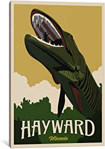 iCanvasART 15540-1PC6-18x12 Hayward Muskie Canvas Print by Steve Thomas, 1.5 by 12 by 18-Inch