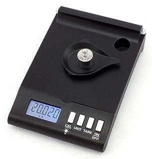 QAZAKY 数码秤 1毫克 0.001克 x 30克 精密珠宝 重新装填 粉末颗粒 实验室宝石 便携式 150ct x 0.01ct