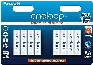 Panasonic 松下 Eneloop AA 1900mAh Eneloop NiMH 即用充電電池 BK-3MCCE(8節經典款電池)