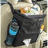 High Road Puff'nStuff 汽车垃圾袋收纳包和纸巾夹(黑色)