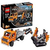 LEGO 乐高 Technic机械组系列 修路工程车组合 42060 8-14岁 积木玩具
