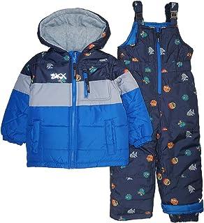 Skechers 婴儿男孩2件套重量级防雪