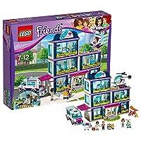 LEGO 乐高 LEGO Friends 好朋友系列 心湖城医院 41318 7-12岁 积木玩具