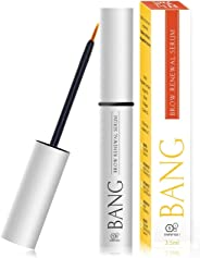 BANG 眉毛精华 - 粗糙眉毛,含多肽 + 摩洛哥坚果油和城堡油 - 来自滋养海滩的生长专家 2 Bottles - ON SALE