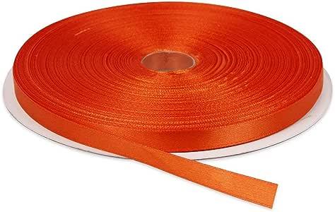 "缎带 橙色 3/8"" x 50 yards DIY Crafts ® India 999"